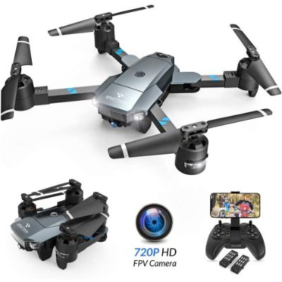 Snaptain A15H Foldable WiFi Drone